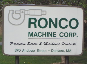 Welcome to RONCO